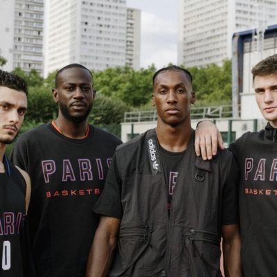 hoodie adidas x parisbasketball
