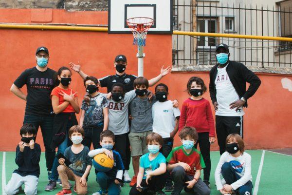 Le Paris Basketball initie les petits Parisiens