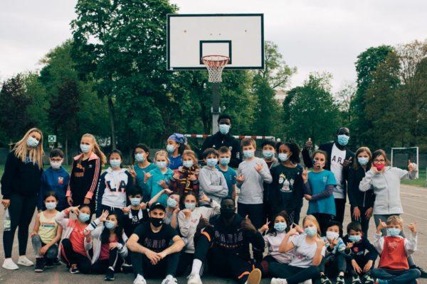 Le Paris Basketball de retour dans les cours d'écoles !