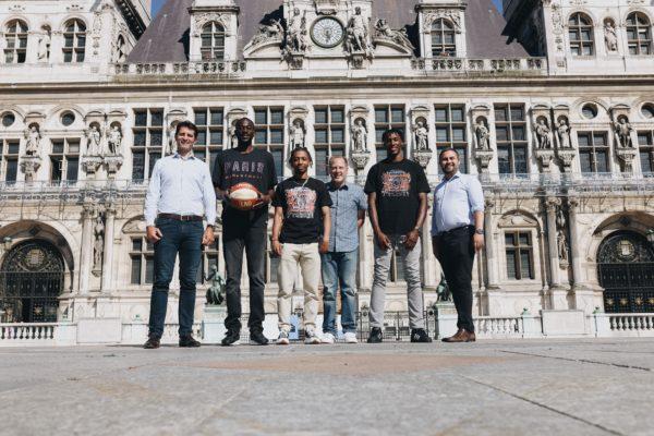 Le Paris Basketball reçu à la Mairie de Paris