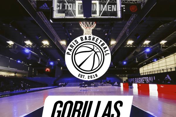Gorillas x Paris Basketball : gagne ton panier d'une valeur de 150€ !